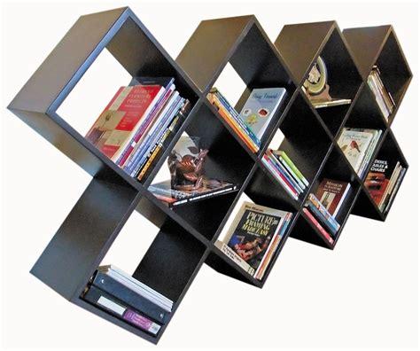 Diamond-Shaped-Bookshelf-Plans