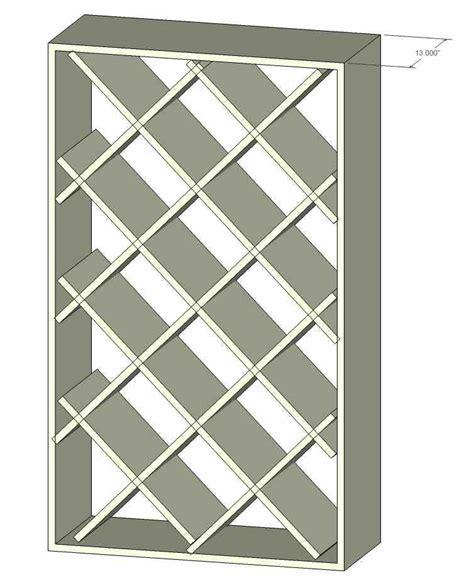 Diamond-Wine-Rack-Plans