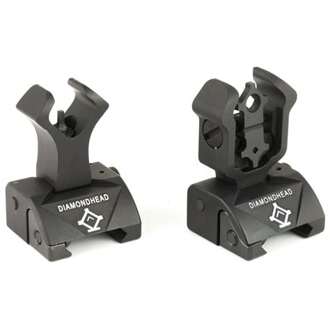Diamondhead Usa Front And Rear Combat Iron Sights And M92 M96 Inox Top Rated Supplier Of Firearm Reloading