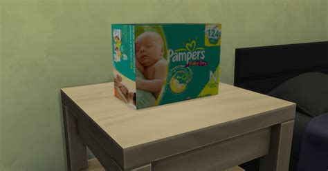 Diapers Box Sims 4