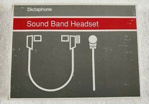 Dictaphone Sound Band Headset 142424