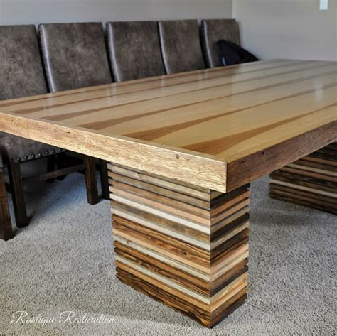 Different Wood Species Table DIY