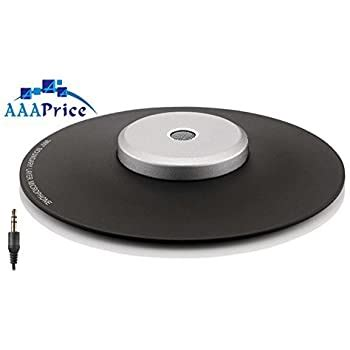 Digital Boundary Conference Meeting Microphone with Omni-Directional Stereo 3.5mm Plug and daisy chain capabilities and wire storage