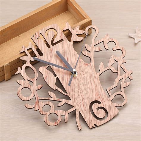 Digital Wood Clock Diy