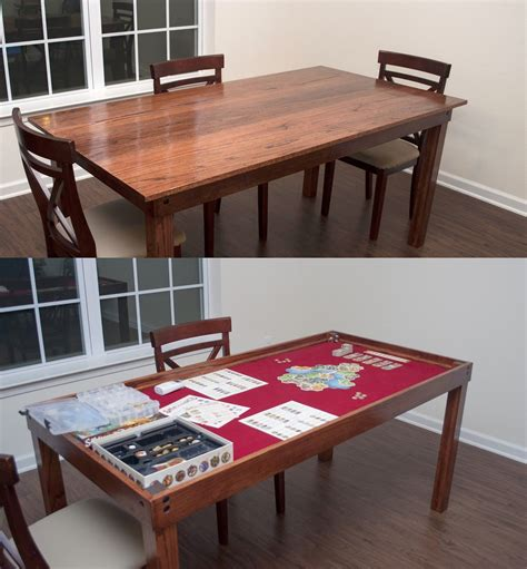 Dining Room Game Table Diy