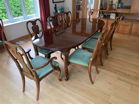 Dining Table And 8 Chairs Gumtree