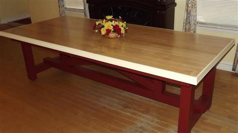 Dining Table Base Diy 4x4