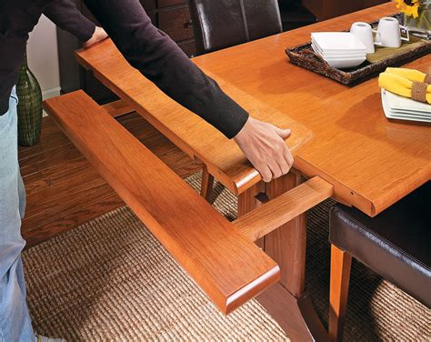 Dining Table Plans With Slide