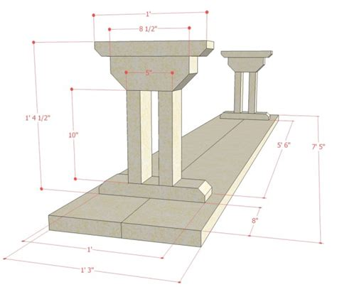 Dining-Bench-Building-Plans