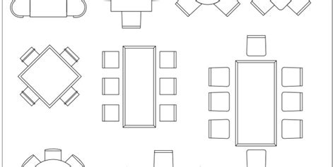 Dining-Room-Rectangle-Table-Floor-Plan