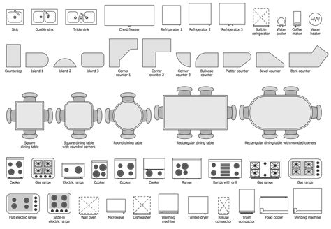 Dining-Table-Symbol-Png-Floor-Plan