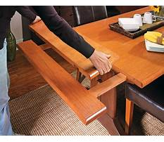Best Dining table woodworking plans