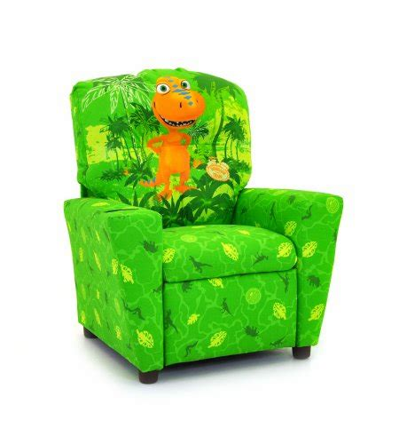 Dinosaur Train Buddy Cup Holder Kid'S Recliner In Green