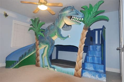 Dinosaur-Bunk-Bed-Plans