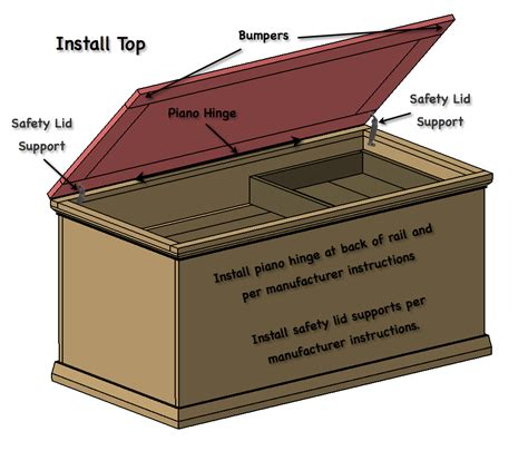 Directions On How To Make A Hope Chest