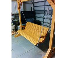 Best Directions for building a porch swing