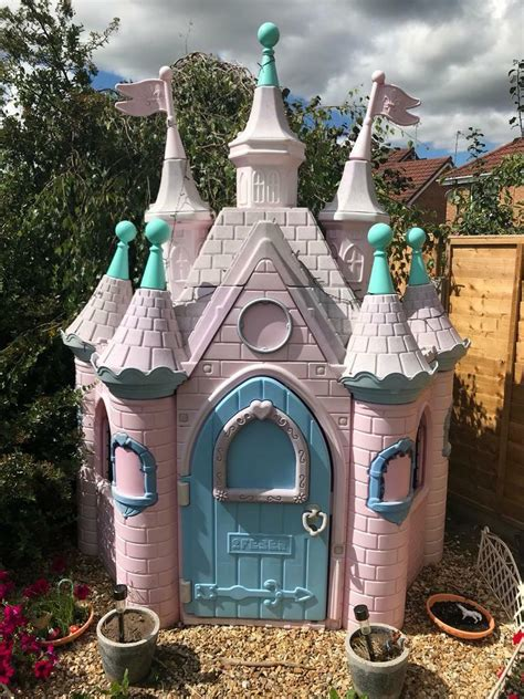 Disney Princess Outside Castle Playhouses For Outdoors