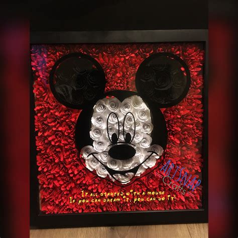 Disney Shadow Box Diy