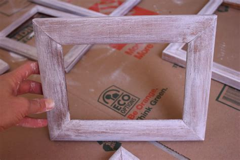 Distressed Picture Frame Diy Pinterest