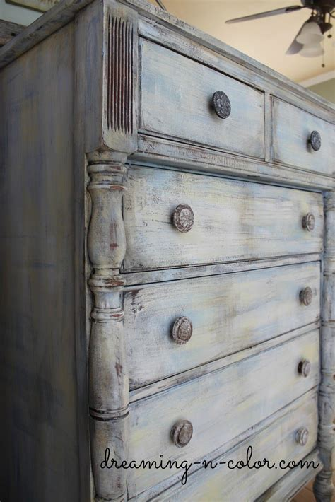 Distressed Wood Chalk Paint Diy Layering