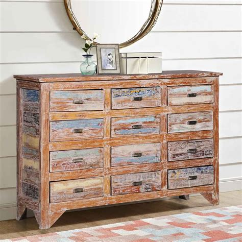 Distressed Wood Dresser Diy Fabric