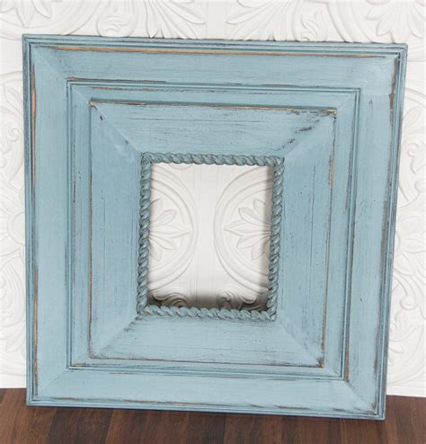 Distressed Wood Frames Diy