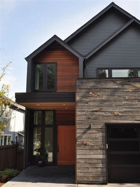 Distressed Wood Look Siding Exterior