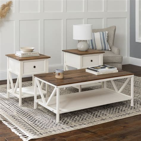 Distressed-Farm-End-Tables