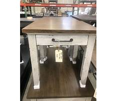 Best Distressed wood end tables