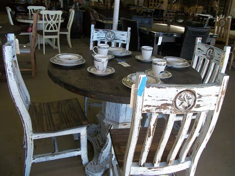 Distressing Dining Table And Chairs Diy