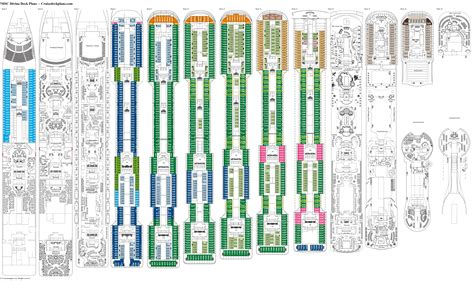 Divina Cruise Ship Deck Plan