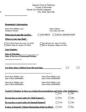Divorce Application Sacramento County And Divorce Attorney Weld County
