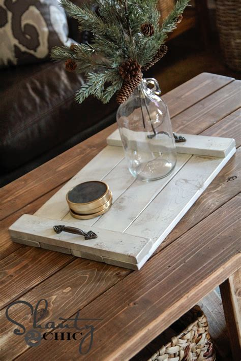 Diy $8 Wood Tray Plans