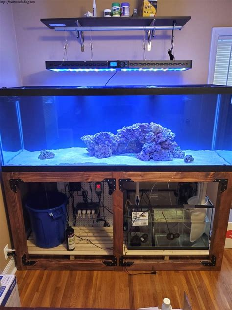 Diy 120 Gallon Fish Tank Stand