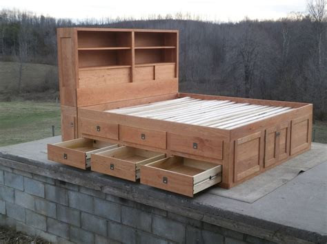 Diy 18 Drawer Queen Size Bed Measurements