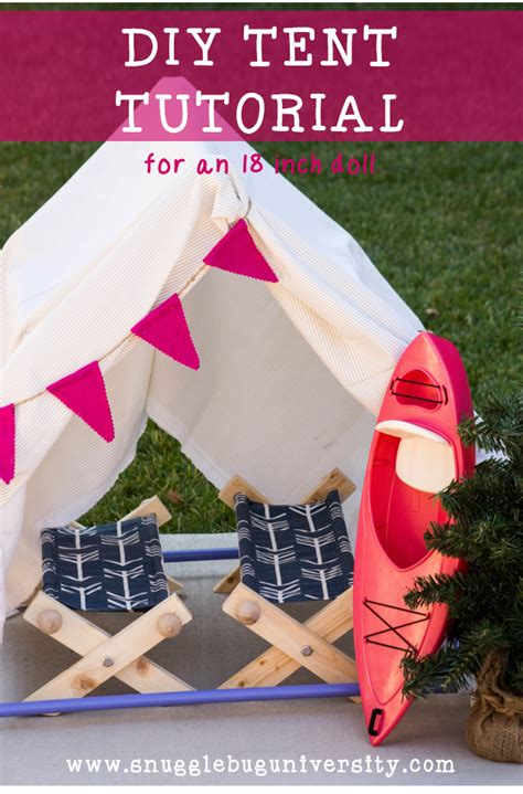 Diy 18 In Doll Tent