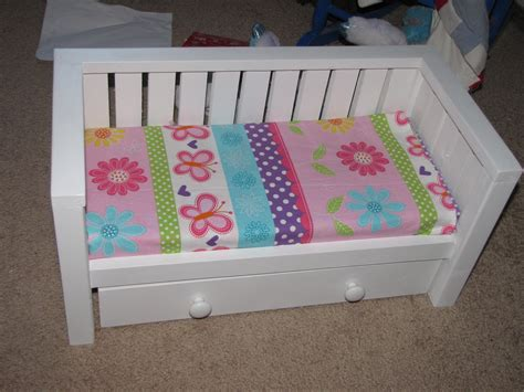 Diy 18 Inch Doll Trundle Bed