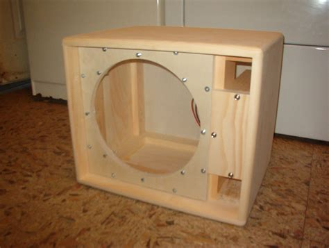 Diy 1x12 Guitar Ported Speaker Cabinet Plans