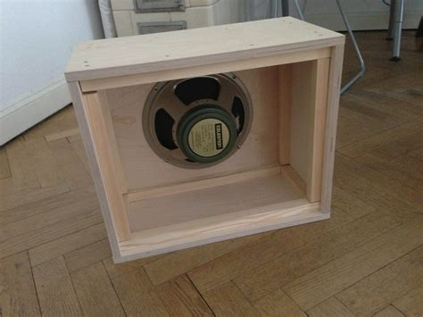 Diy 1x12 Guitar Speaker Cabinet Plans