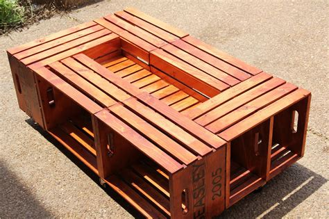 Diy 1x2 Frame For Crate Coffee Table