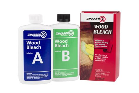 Diy 2 Part Wood Bleach