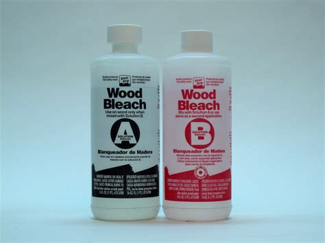 Diy 2 Part Wood Bleach For Sale