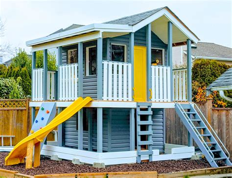 Diy 2 Story Playhouse Plans