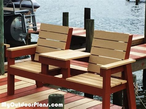 Diy 2x4 Double Chair Bench
