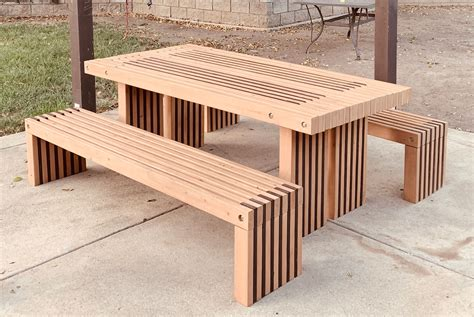 Diy 2x4 Picnic Table