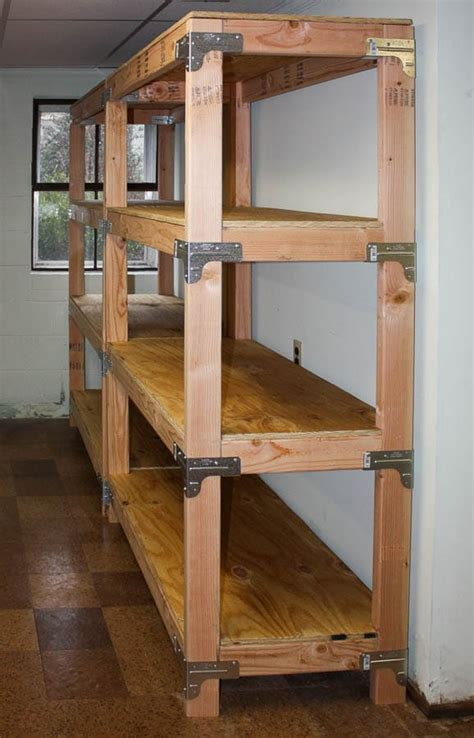 Diy 2x4 Wood Shelves