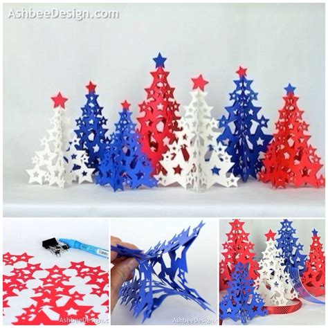 Diy 3d Star For Christmas Tree