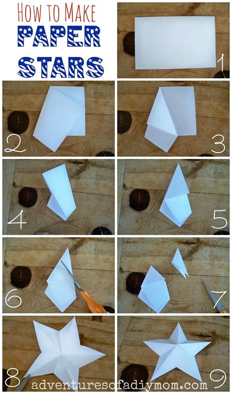Diy 3d Stars Step By Step
