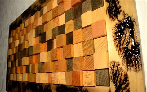 Diy 3d Wood Wall