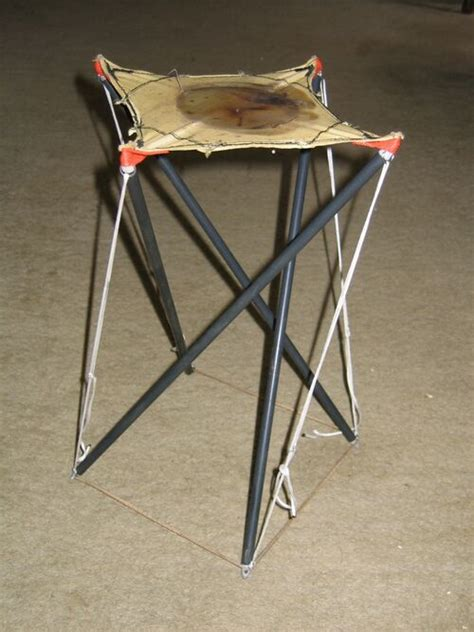 Diy 4 Strut Tensegrity Table Instructions For Form